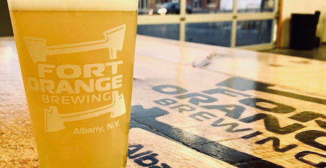 pint of beer summer brews event CRVN at Fort Orange Brewery